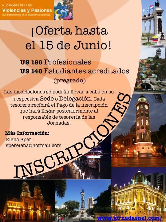 Inscripciones Jornadas Guayaquil