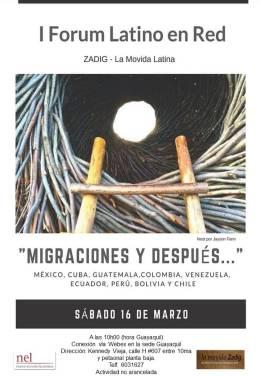 Migraciones y despues